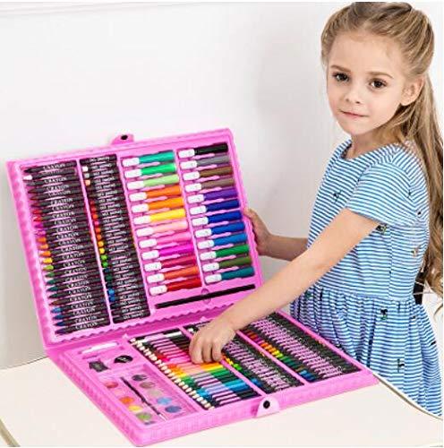 168/288 stücke Kunst Set Malerei Aquarell Zeichenwerkzeuge Art Marker Pinsel Stift Liefert Kinder Für Geschenkbox Büromaterial,168pcsa