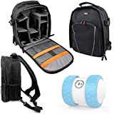 DURAGADGET Premium Quality, Water-Resistant Compact Backpack Organiser For Sphero Ollie / Sphero Ball Robot - with Customizable Interior & Additional Raincover