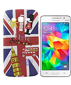 Exclusive Rubeerised Back Case Cover For Samsung Galaxy Core 2 G355H - London Flag