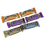 EAT NATURAL - Set 6 Barrette Assortite - Mandorla e Albicocca, Noci Brasiliane ed Uva Sultana, Proteico con Noccioline con Cioccolata, Caffè e Cioccolata - Senza Aromi, Coloranti e Conservanti Artificiali - 6 x 45 gr