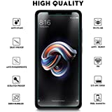 MARKET AFFAIRS [Shatterproof] Edge To Edge Tempered Glass Screen Protector For Xiaomi Redmi Note 5 Pro -Transparent