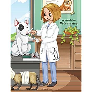 Livre de coloriage Vétérinaire 1