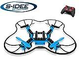 s-idee® 17103 S902 Bausteindrohne zum selberbauen Quadrocopter mit Höhenstabilisierung 4 Kanal