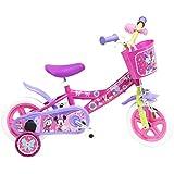Bicicleta Niño Disney Minnie 10 pulg Rosa 2-4 años