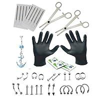 مجموعة أدوات اللكم والنفخ من زيليت، متعددة الاستخدامات للأذن، والحنجرة، والأذن، والحنجرة، والبطن، من مجموعة أدوات اللكم
