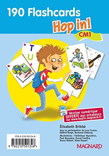 Hop in CM1 : Flascards par Elisabeth Brikké