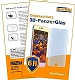 1x mumbi 3D Panzerglasfolie für iPhone 7 Glasfolie