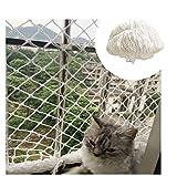 NIUFHW Rete di Protezione, Rete for Balcone for Finestre Ringhiera delle Scale Letto da Giardino Alto Luogo Anticaduta Decorazione for Bambini Giocattolo da Parete 1x2m (Size : 2.5 * 4M)