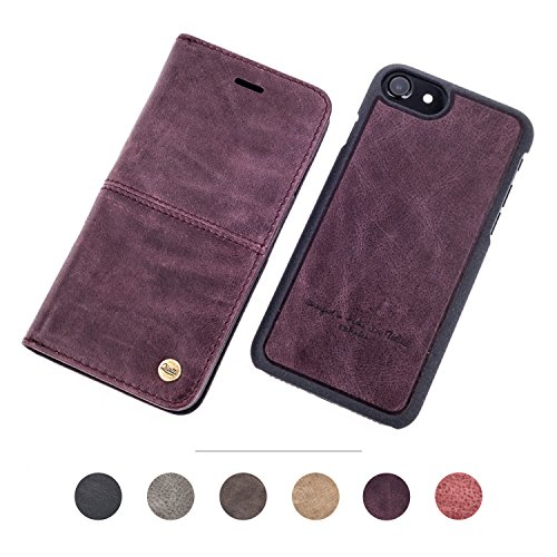 Qiotti Apple iPhone 7/7 Plus Magic Smart Collection caffè COFFEE iPHONE 6 / 6S / 7 PURPLE