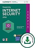 Kaspersky Internet Security 2016 + Kaspersky Password Manager 1 User [PC Download]