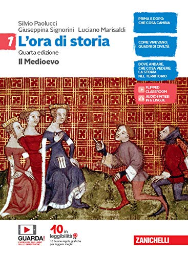 L'ora di storia. Con Atlante storico e Cittadinanza e Costituzione. Per la Scuola media. Con e-book. Con espansione online: 1