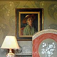 Charleston Farmhouse ritratto di gruppo Bloomsbury Vanessa Bell-Stampa incorniciata 12,70