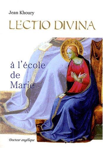 Lectio Divina à l'Ecole de Marie