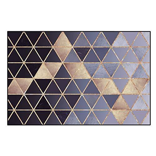 JIAJUAN Vorderseite Fußmatte Fußabtreter Küche Schlafzimmer Eingang Teppich Rutschfest Einfach Zu Säubern Innerhalb Unter Tür Matte (Farbe : A, größe : 120x140cm) (Unter Teppich-matte)