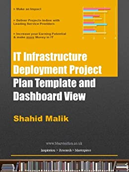 it infrastructure deployment project plan template and