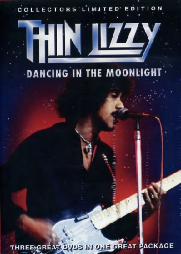 Thin Lizzy - Dancing In The Moonlight [3 DVDs] [UK Import] Moonlight Music Box