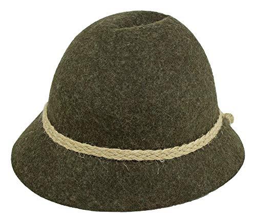 Kinder Trachten Hut braun Gr. 51