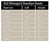 """Elite Rhinegold Reiterstiefel """"Brooklyn"""" aus Leder, ideal für stabile Position beim Ausführen von Hunden im Gelände, braun"""