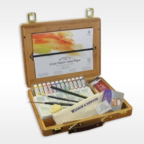 Winsor & Newton Artists' Watercolour Bamboo Box Tubes