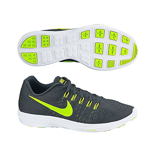 Nike Lunartempo, Chaussures de Running Femme Classic Charcoal/Black/White/Volt