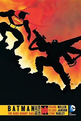 Batman: The Dark Knight Returns Deluxe Edition HC by Frank Miller (2015-11-19)