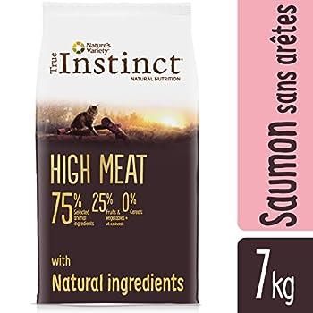 True Instinct High Meat Adult Nourriture pour Chat Saumon sans Arêtes avec Thon 7 kg
