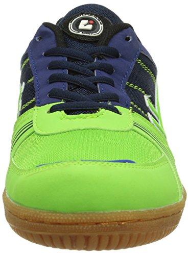 Killtec Soccero, Chaussures indoor mixte adulte Bleu - Blau (royal/apfel 00817)