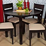 Home Centre Montoya Round Dining Table Without Chairs - 4 Seater