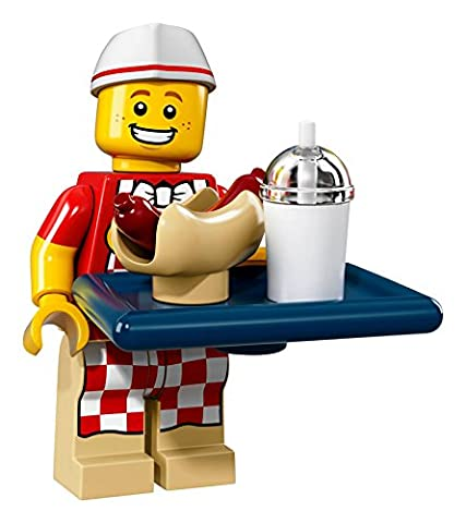 Lego Minifigures Series 17 - #6 HOT DOG MAN Minifigure - (Bagged) 71018