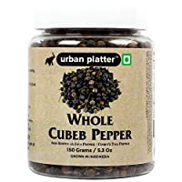 Urban Platter Whole Cubeb Pepper, 150g / 5.3oz [Java Pepper, Comet's Tail Pepper, Grown in Indonesia]