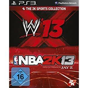 2K Sports Bundle (NBA 2K13 & WWE 13)