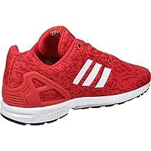 adidas zx flux femmes rouge