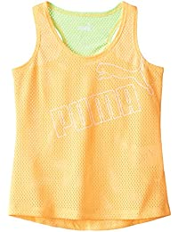 PUMA Girls' Forever Faster Tank Top