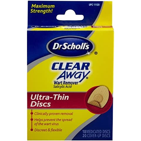 CLEAR AWAY WART RMVR 11120 SCH 18 PADS by Dr.