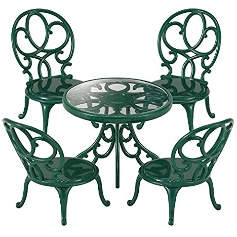 GARDEN TABLE & CHAIRS - SPEELG
