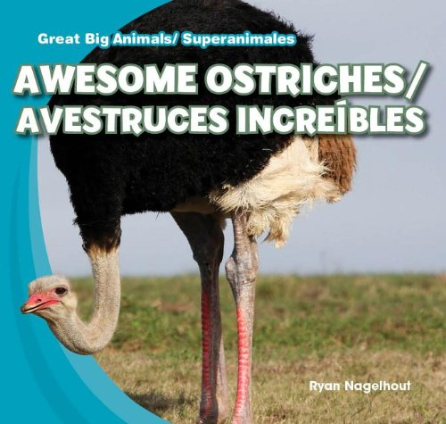 Awesome Ostriches / Avestruces Increíbles (Great Big Animals / Superanimales) por Ryan Nagelhout
