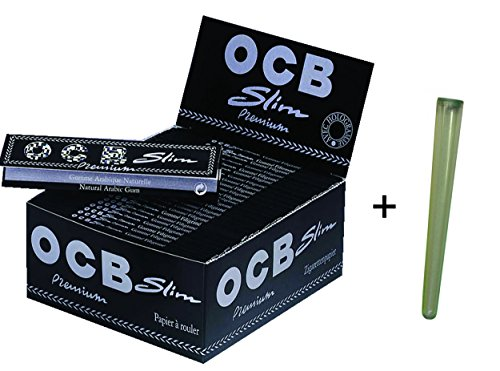 50x Papers OCB Premium Slim - Longpapers + Joint-Hülle