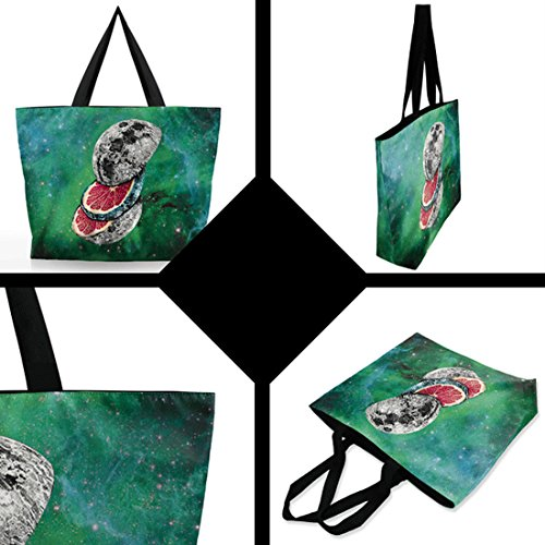 Belsen, Borsa a spalla donna multicolore Eye cat Taglia unica Cutting