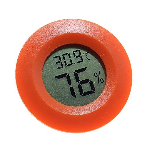 Termómetro digital higrómetro, precisión electrónica inalámbrico temperatura medidor de humedad Detector indicador...