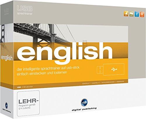 USB Sprachtrainer English: Das intelligente Sprachlernsystem für Englisch auf USB-Stick