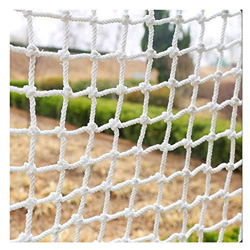 Outdoor Kinderschutznetz Kletternetz Heavy Duty - Indoor Kletternetz für Kinder - Outdoor Spielgeräte, Klettergerüste, Hindernisparcours,4 * 10m -