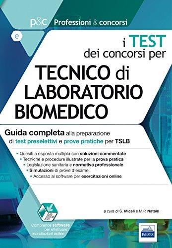 I test dei concorsi per tecnico di laboratorio