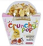 Friandises pour rongeurs CRUNCHY POP POMME 33G Pop corn et pomme.