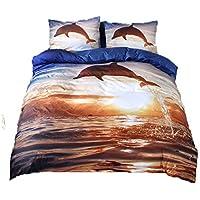 Delfini piumini e copripiumini biancheria da letto casa e cucina - Biancheria da letto amazon ...