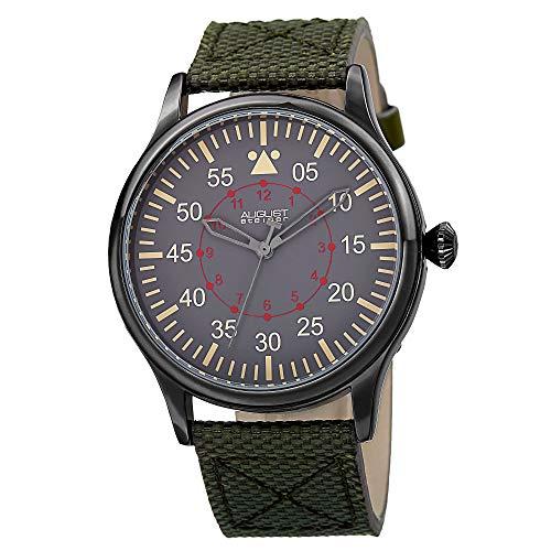 August steiner Herren-Armbanduhr Analog Quarz AS8125GN