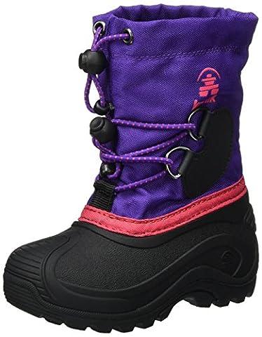 Kamik Mädchen SOUTHPOLE4 Schneestiefel, Violett (Purple-Violet), 37 EU