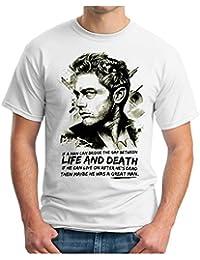 4c23b4973405 OM3® - James Dean - Life and Death - T-Shirt Hollywood Legends James