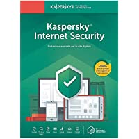 Kaspersky Internet Security 2020 3 Dispositivi Rinnovo 12 mesi [licenza via mail]