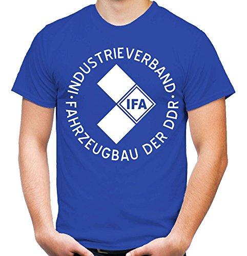 IFA T-Shirt | DDR | Osten | Fun | M1 Blau