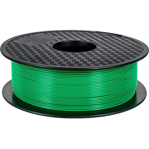 GEEETECH Filamento PLA 1.75mm Nuevo, filamento de impresora 3D PLA 1kg Carrete (Nuevo Verde)